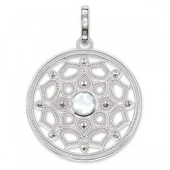 Thomas Sabo pendant white lotus small Women Pendants PE690-692-14
