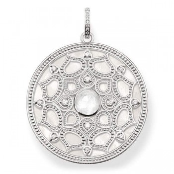 Thomas Sabo pendant white lotus Women Pendants J_PE0010-745-14