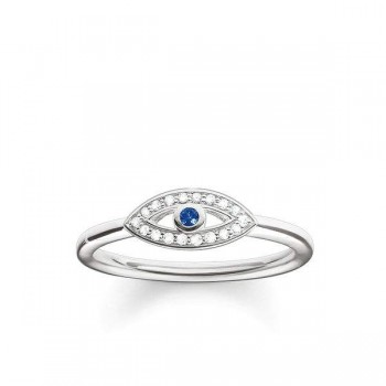 Thomas Sabo ring blue nazar eye Women Rings TR2075-412-32