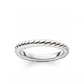 Thomas Sabo ring cord look Women Rings TR1978-001-12