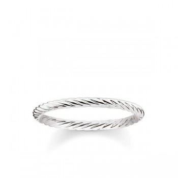 Thomas Sabo ring cord look Women Rings TR2121-001-12