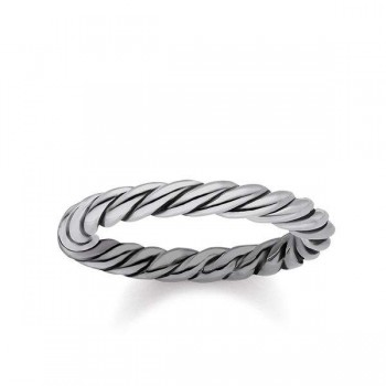 Thomas Sabo ring cord look Women Rings TR2133-637-21