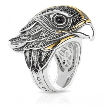 Thomas Sabo ring diamond falcon Women Rings J_TR0029-846-11