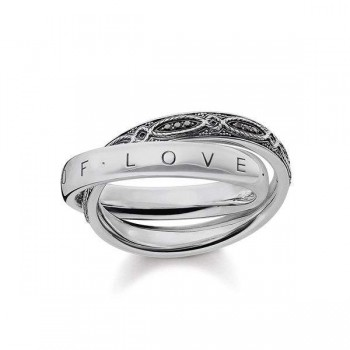 Thomas Sabo ring INFINITY OF LOVE Women Rings TR2136-643-11