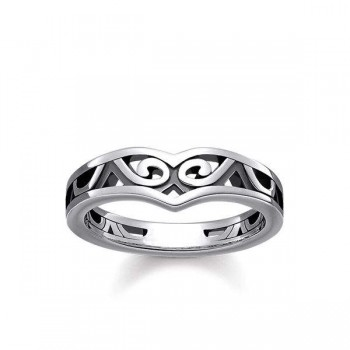 Thomas Sabo ring Maori ornamentation Women Rings TR2131-637-21