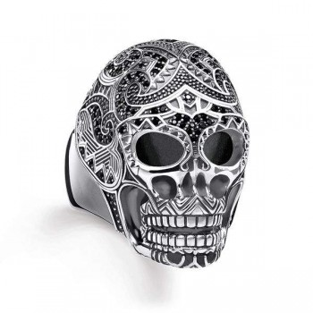 Thomas Sabo ring Maori skull Women Rings TR2132-643-11