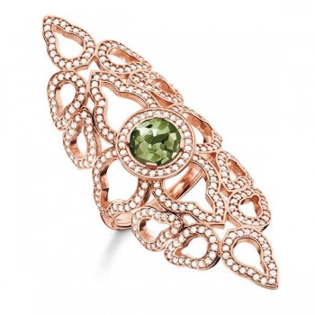 Thomas Sabo ring oriental green Women Rings TR2068-635-6
