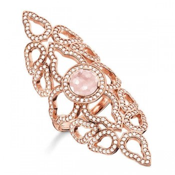 Thomas Sabo ring oriental pink Women Rings TR2068-417-9