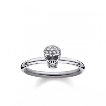 Thomas Sabo ring skull Women Rings D_TR0030-356-21