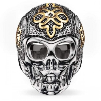 Thomas Sabo ring skull Women Rings J_TR0014-659-12