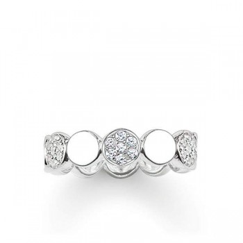 Thomas Sabo ring Sparkling Circles Women Rings TR2048-051-14