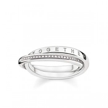 Thomas Sabo ring Together Forever Women Rings D_TR0018-725-14