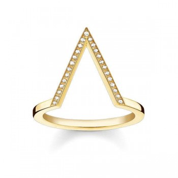 Thomas Sabo ring triangle Women Rings D_TR0020-924-14
