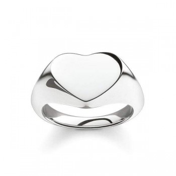 Thomas Sabo signet ring heart Women Rings TR2083-001-12