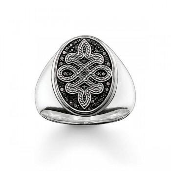 Thomas Sabo signet ring Love Knot Women Rings TR2007-051-11
