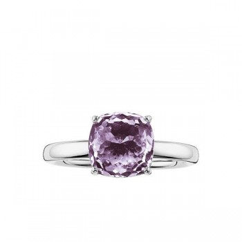 Thomas Sabo solitaire ring purple Women Rings J_TR0005-716-13