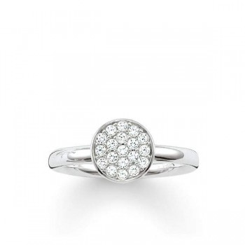 Thomas Sabo solitaire ring Sparkling Circles Women Rings TR2050-051-14