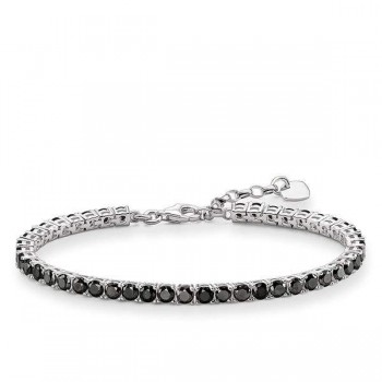 Thomas Sabo tennis bracelet black Women Bracelets A1484-643-11