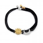 Alex And Ani Sun and Moon Pull Cord Bracelets Set of 2 Jewelry Sets | thomassabobraceletuk.com