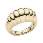 Links Of London | Sweetie 18kt Yellow Gold Signature Ring | Women Rings UK | thomassabobraceletuk.com