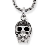 Thomas Sabo necklace diamond skull Men Necklaces J_KE0028-714-11|Thomas Sabo Shop | thomassabobraceletuk.com